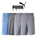 Puma Mens Plaid Tech Golf Shorts 2015