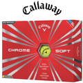 Callaway Chrome Soft Yellow Golf Balls 2016