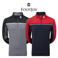 Footjoy Mens Chill-Out Pullover with Chest Piping.