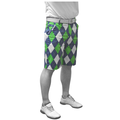 Royal & Awesome Blues On The Green Golf Shorts 2016