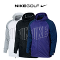 Mens Printed Packable Hooded Golf Jacket