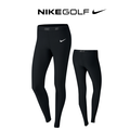 Ladies Golf Tight Black/Black/Metallic Silver