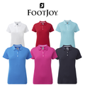 Footjoy Ladies Stretch Solid Golf Pique