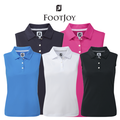 Footjoy Ladies Interlock Sleeveless Solid Golf Shirt 2017