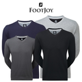 Footjoy Mens Spun Poly V Neck Golf Pullover