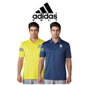 Adidas Ryder Cup 2018 Climacool 3-Stripes Club Crestable Golf Polo