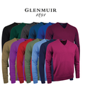 Lomond Lambswool V Neck Golf Sweater