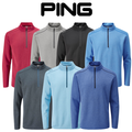 Ping Mens Ramsey Half Zip Fleece Golf Top