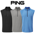Ping Mens Ramsey Fleece Golf Vest