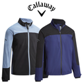 Callaway Mens Full Zip Block Wind Jacket - 2019