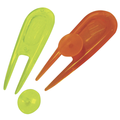 Neon Golf Pitchforks & Ball Markers