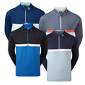 FootJoy Men's Colour Blocked Chill Out Pullover