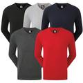 FootJoy Mens Wool Blend V Neck Golf Sweater