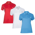 Royal & Awesome Womens Polo Shirt