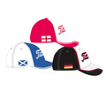 Country Flag Golf Caps 2014