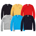 Lyle & Scott V Neck Cotton Golf Jumper