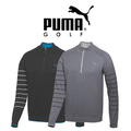 Puma Mens Quarter Zip Novelty Golf Sweater 2015