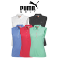 Puma Womens Tech Sleeveless Golf Polo 2015