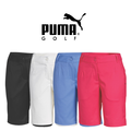 Puma Womens Solid Tech Bermuda Golf Shorts 2015