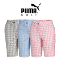Puma Womens Pattern Tech Bermuda Golf Shorts 2015