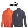 Puma Junior Half Zip Golf Wind Jacket 2015