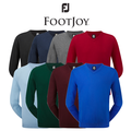 Footjoy Mens Lambswool V Neck Golf Sweater 2015
