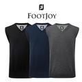 Footjoy Mens Lambswool V Neck Golf Slipover 2015