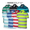 Nike Modern Fit Victory Bold Stripe Golf Polo