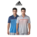 Climacool® Gradient Tri-Geo Print Polo