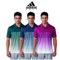 ClimachillTM Gradient Stripe Polo