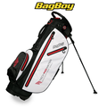 Bag Boy Techno-Water S-260 Golf Stand Bag - White Black Red
