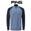 Ping Colton Mens Sweater Deep Sea Blue