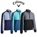 Callaway Mens 1/4 Zip Block Wind Jacket - 2019