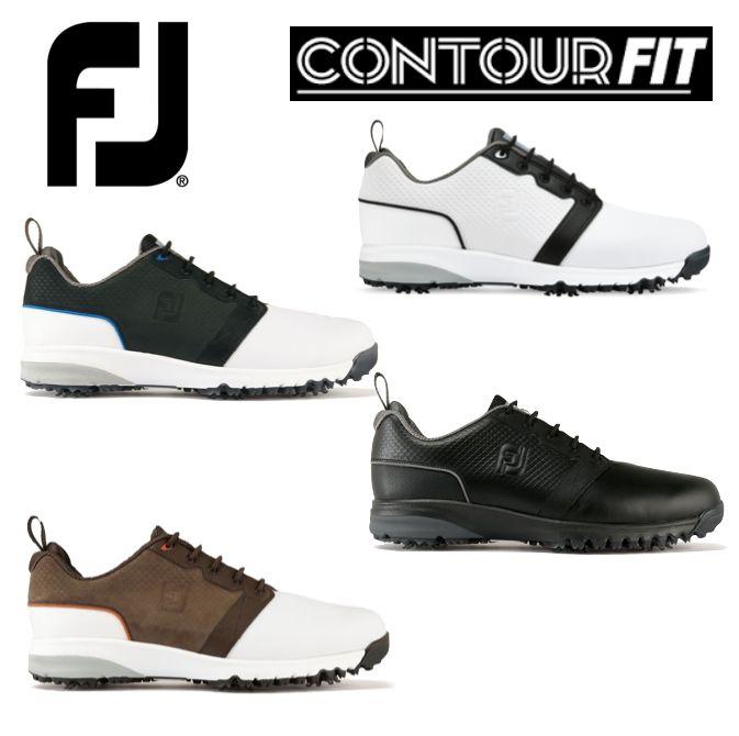 Footjoy Contour Fit Mens Golf Shoes - New 2017 c3a865db823
