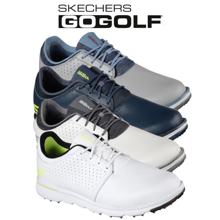 ecb7bc0b6b5f Skechers Mens Go Golf Elite V.3 - Approach LT Golf Shoes
