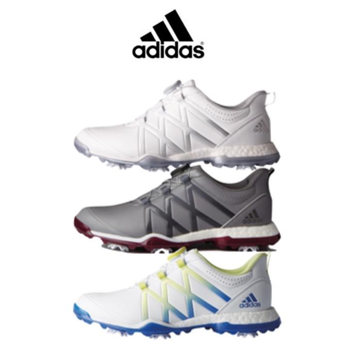 Adidas Adipower Boost Boa Golf Shoes Yellow