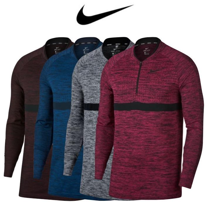 3c9be0d9ed Nike Men s Dry Seamless Half Zip Golf Top