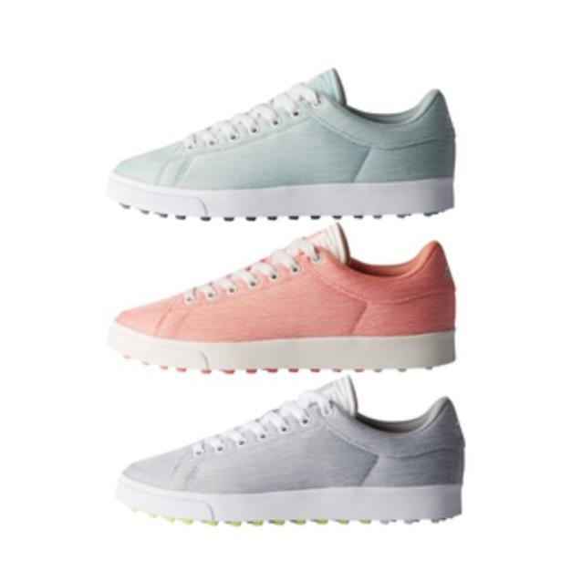 hot sale online a07aa 1b128 adidas adicross Classic Textile Womens Golf Shoes. Adicross Classic Textile