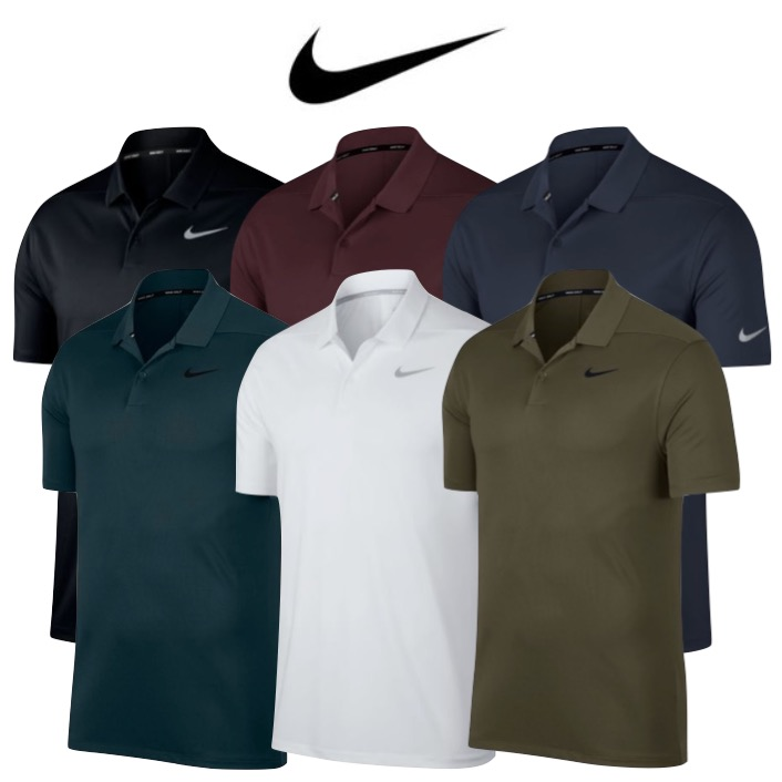 77010635a Nike Mens Dry Solid LC Victory Golf Polo 2018