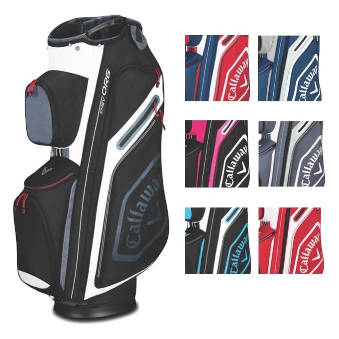Callaway 2019 Chev ORG Cart Golf Bag + FREE Towel 75e1315e0603e