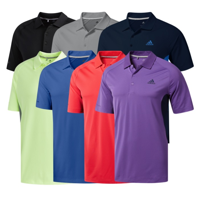 dbdc21f62 adidas Mens Ultimate 365 Climacool Solid Golf Polo
