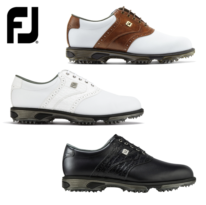 FootJoy Dryjoys Tour Mens Golf Shoes + FREE Socks 4bc46dc2341