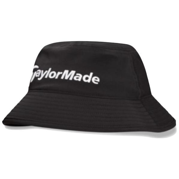 11da2252a58 TaylorMade Waterproof Storm Bucket Hat. Black