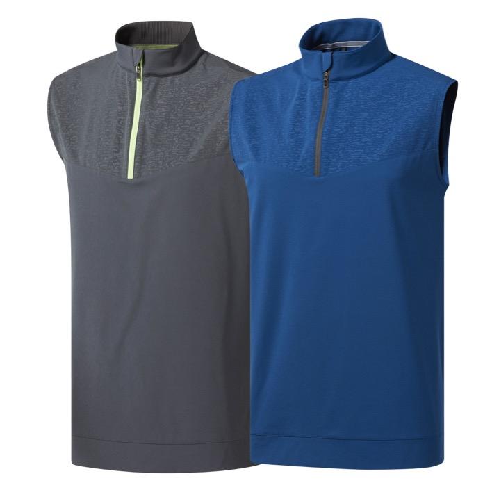0a274a4bad7e2 adidas Mens Camo Print Golf Wind Vest