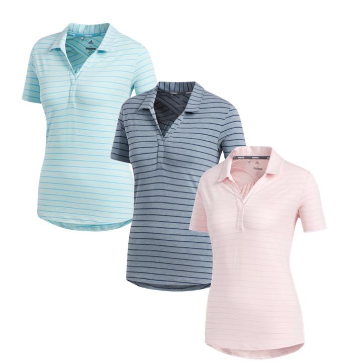 c8a25cbc97ec4 adidas Ladies Club Golf Polo Shirt