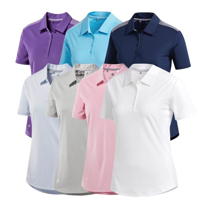 888e2507c8ea25 adidas Ladies Ultimate 365 Golf Polo Shirt