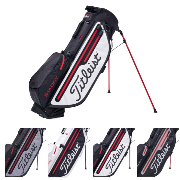 d2868eb668e46 Titleist Players 4 Plus StaDry Stand Golf Bag + FREE Balls
