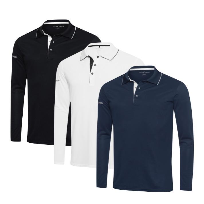 37216e249 Galvin Green Marc Ventil8 Plus Long Sleeve Mens Golf Shirt. Marc