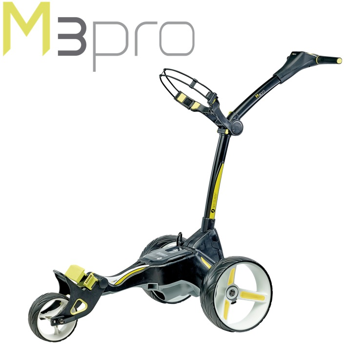 Motocaddy M3 Pro Electric Golf Trolley - 18 Hole LITHIUM Battery