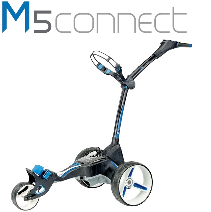 Motocaddy M5 Connect Electric Golf Trolley 36 Hole LITHIUM Battery